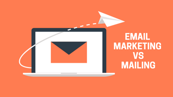 Diferencias entre Email Marketing y Mailing